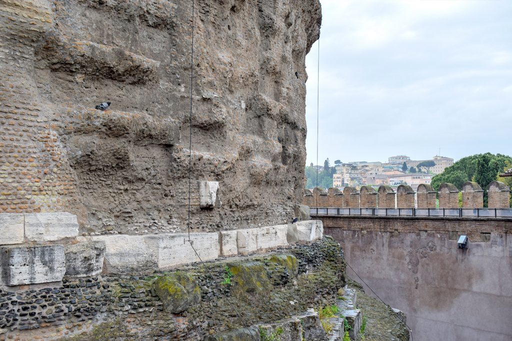 Sant'Angelo Castle Italy - Exterior Walls