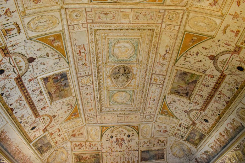 Sant'Angelo Castle Italy - Ceiling Background