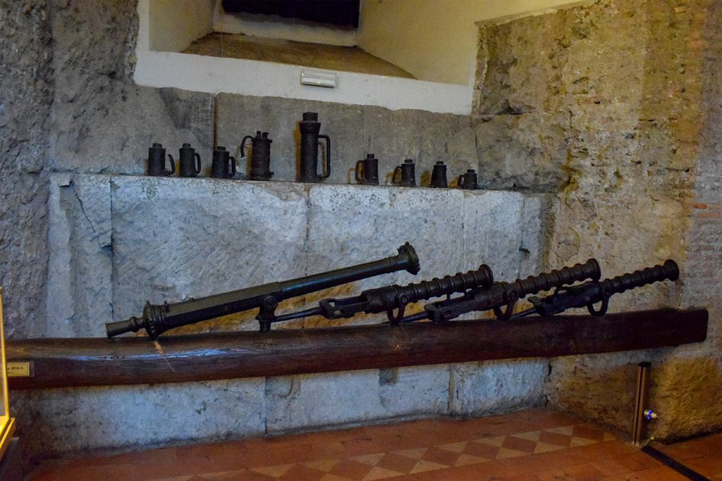 Museum of Sant'Angelo Castle Italy