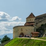 Rasnov Fortress, Located in Brasov County, Romania