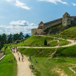Rasnov Citadel, Located in Brasov County, Romania