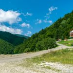 A Chalet from the relaxation place at the foot of the Piatra Craiului massif, Plaiul foii, Zarnesti, Brasov, Romania