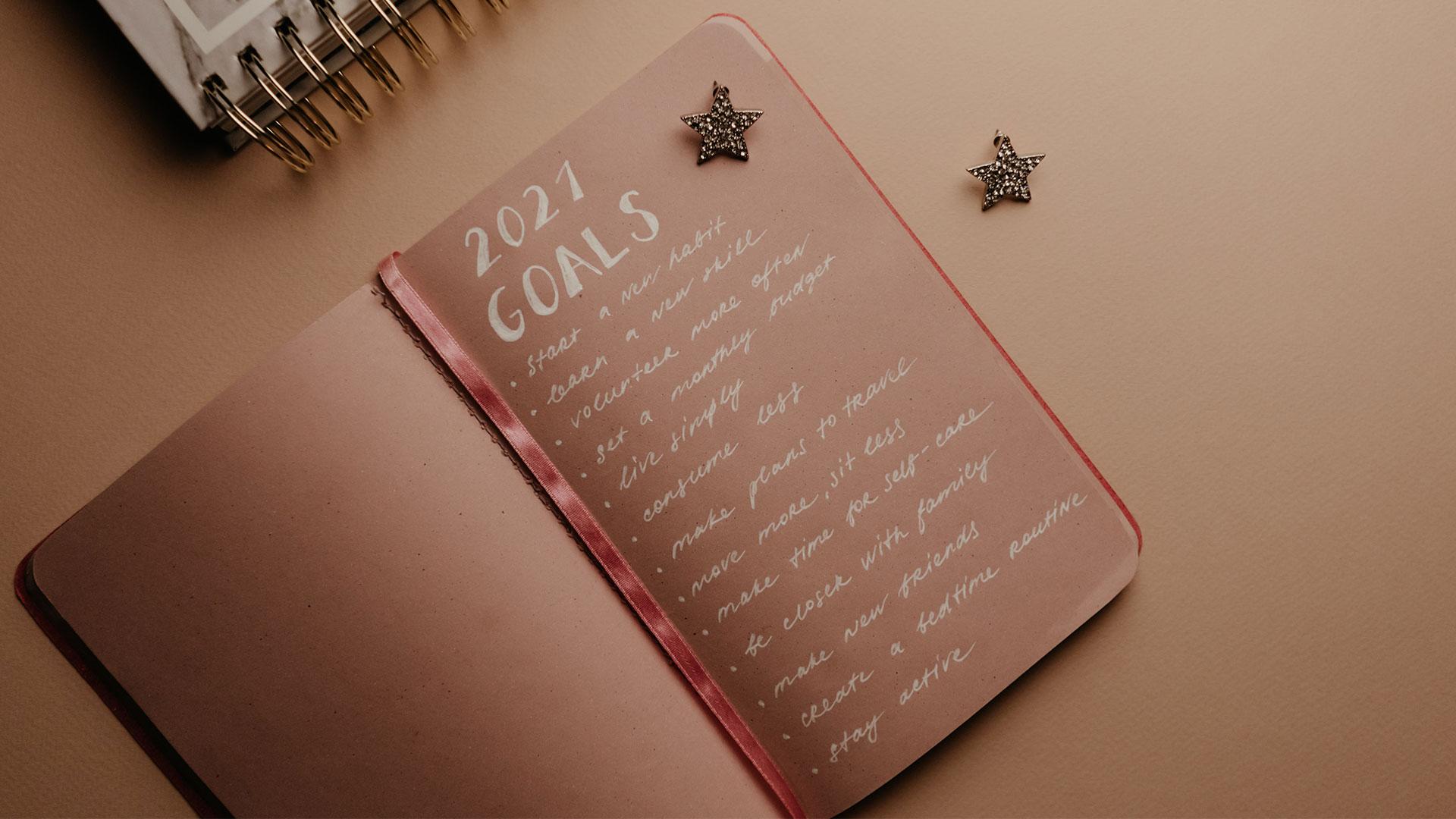 Personal Goals 2021