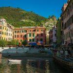 The colorful harbor of Vernazza, Cinque Terre, Italy