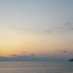 Sunset over the famous city of Manarola, Cinque Terre National Park, Italy