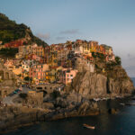 Manarola, the famous city of Cinque Terre National Park, Italy