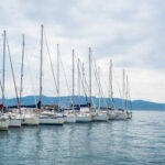 Beautiful Sailing Ships in Porto Venere, La Spezia, Italy
