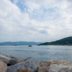 Beautiful landscape seen from Porto Venere, La Spezia, Italy